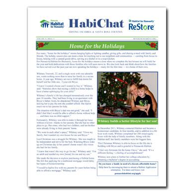 HabiChat Newsletter