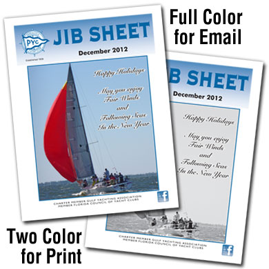Jib Sheet Newsletter